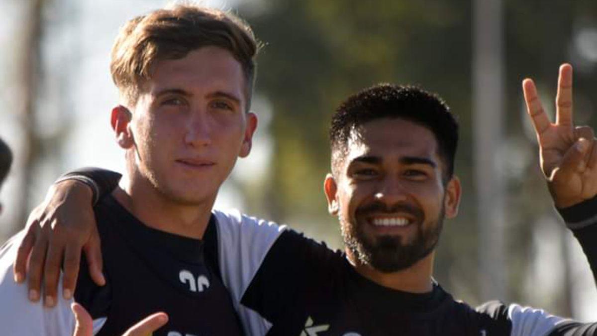 Mauro Visaguirre y Marchiori buscan su lugar en el equipo de Gimnasia y Esgrima.