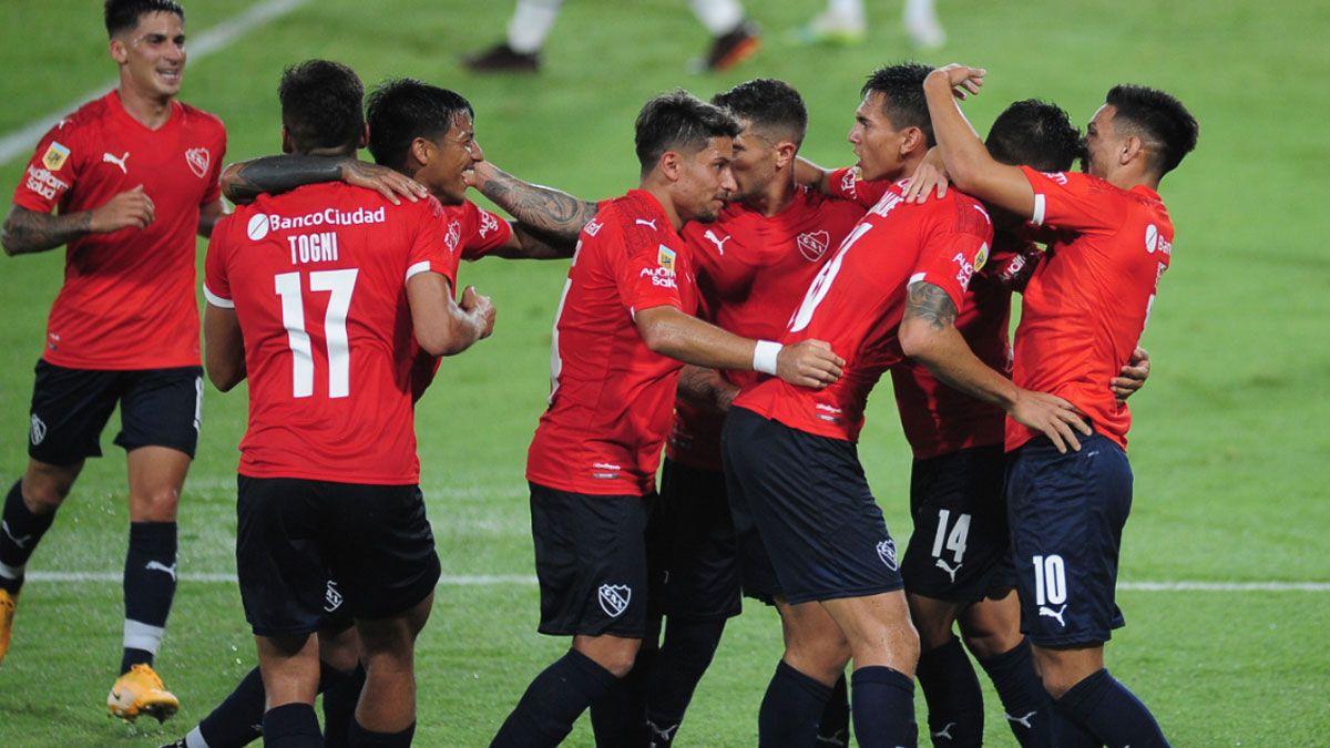 Independiente volvió a ganar gracias a Silvio Romero