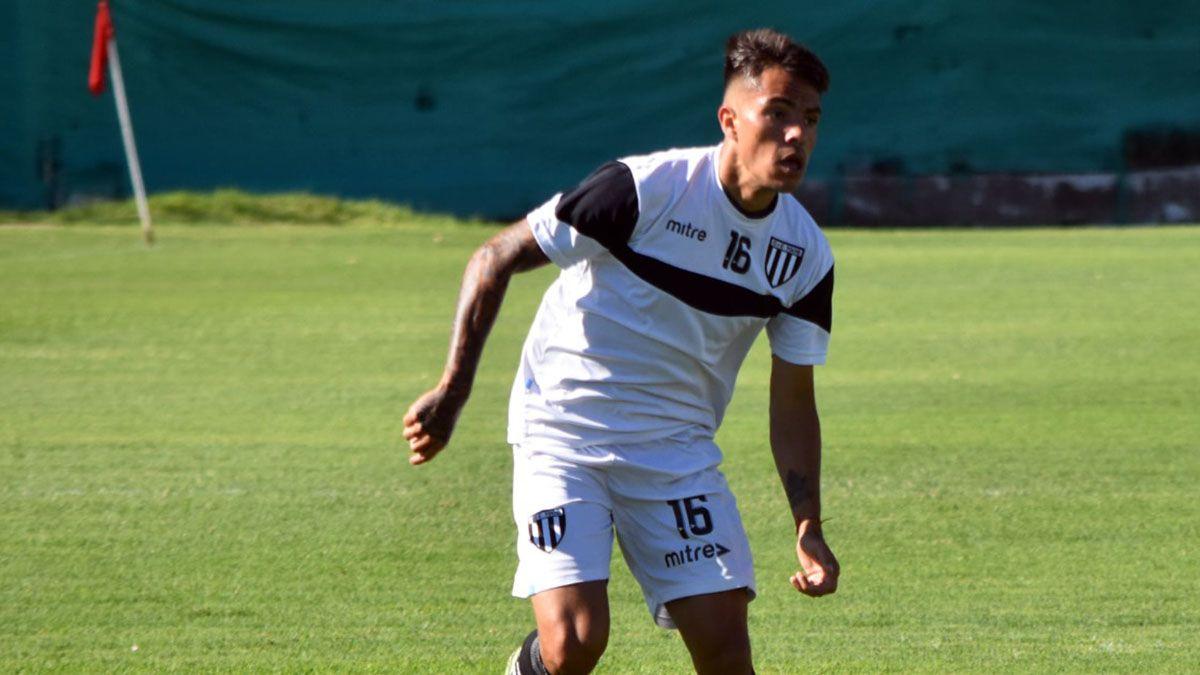 Santiago González será titular en el Lobo. Foto: gentileza Prensa Gimnasia y Esgrima.