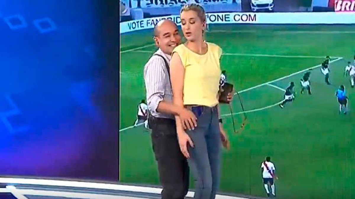 Elio Rossi y Mariela Fernández.