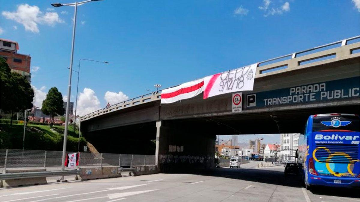 Banderas contra Boca en La Paz, con los recuerdos de Madrid
