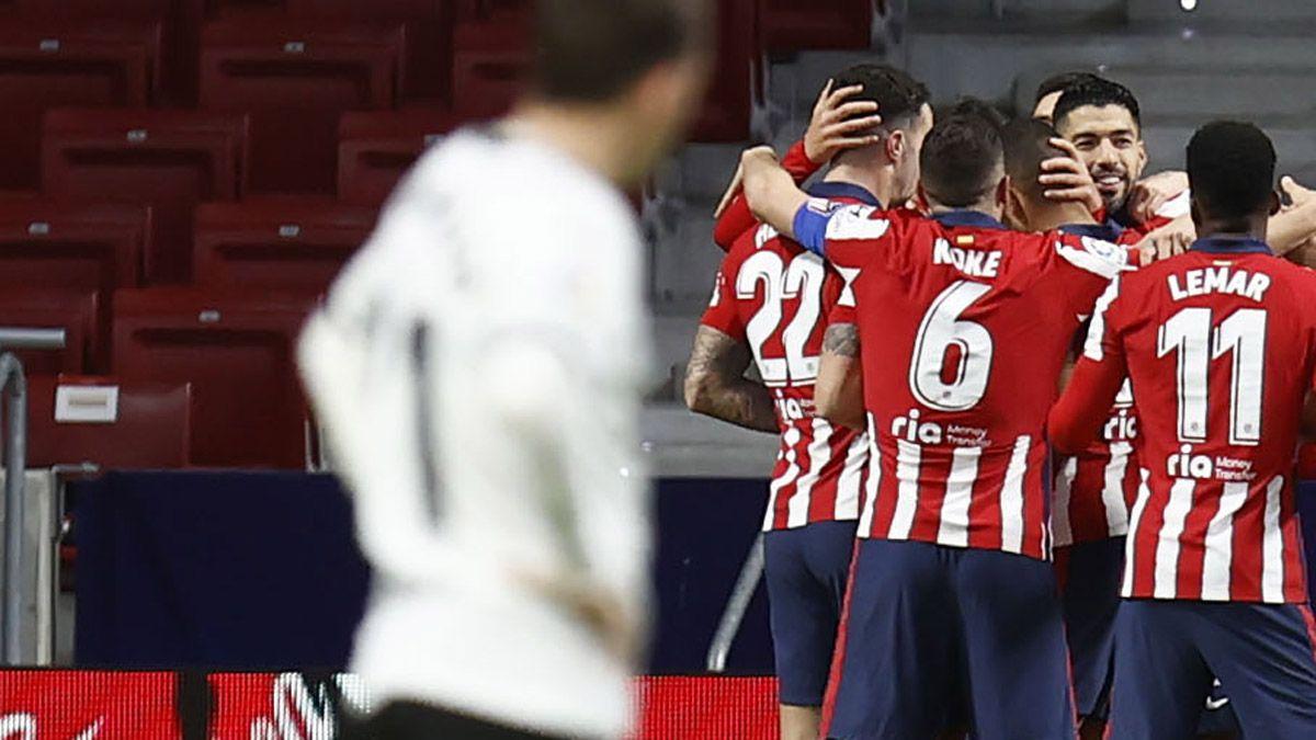 El Aleti le sacó 7 puntos al Real Madrid y 10 al Barcelona