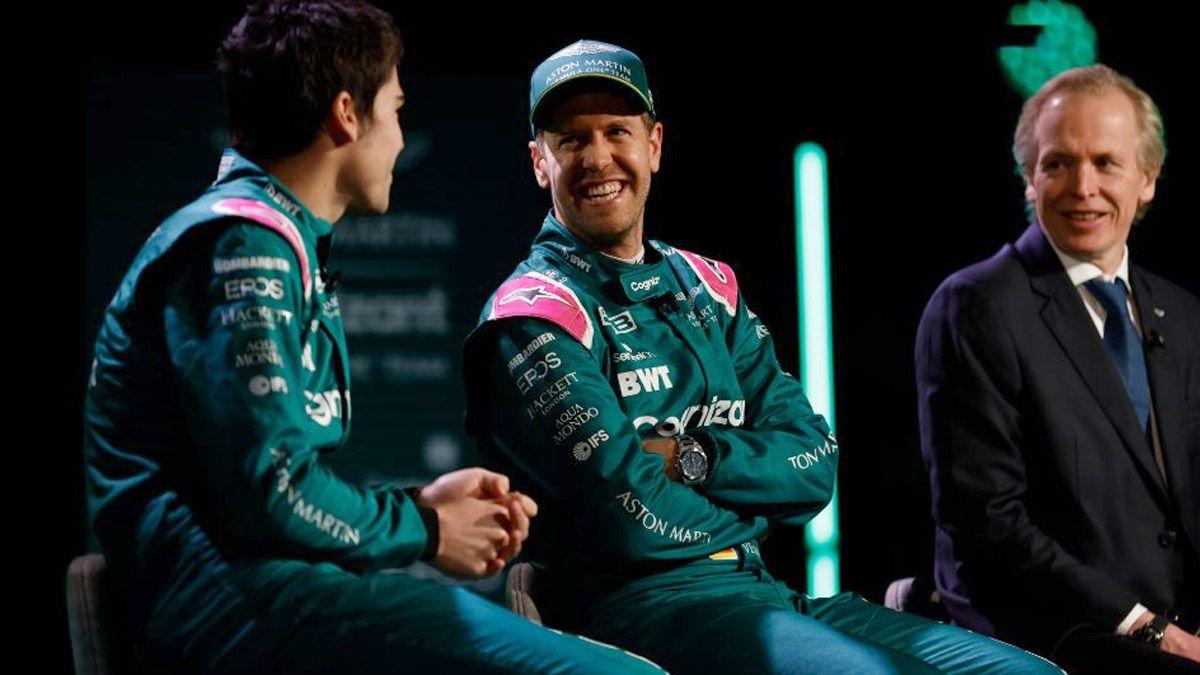 Vettel promete dar lucha con Aston Martin, su nuevo equipo