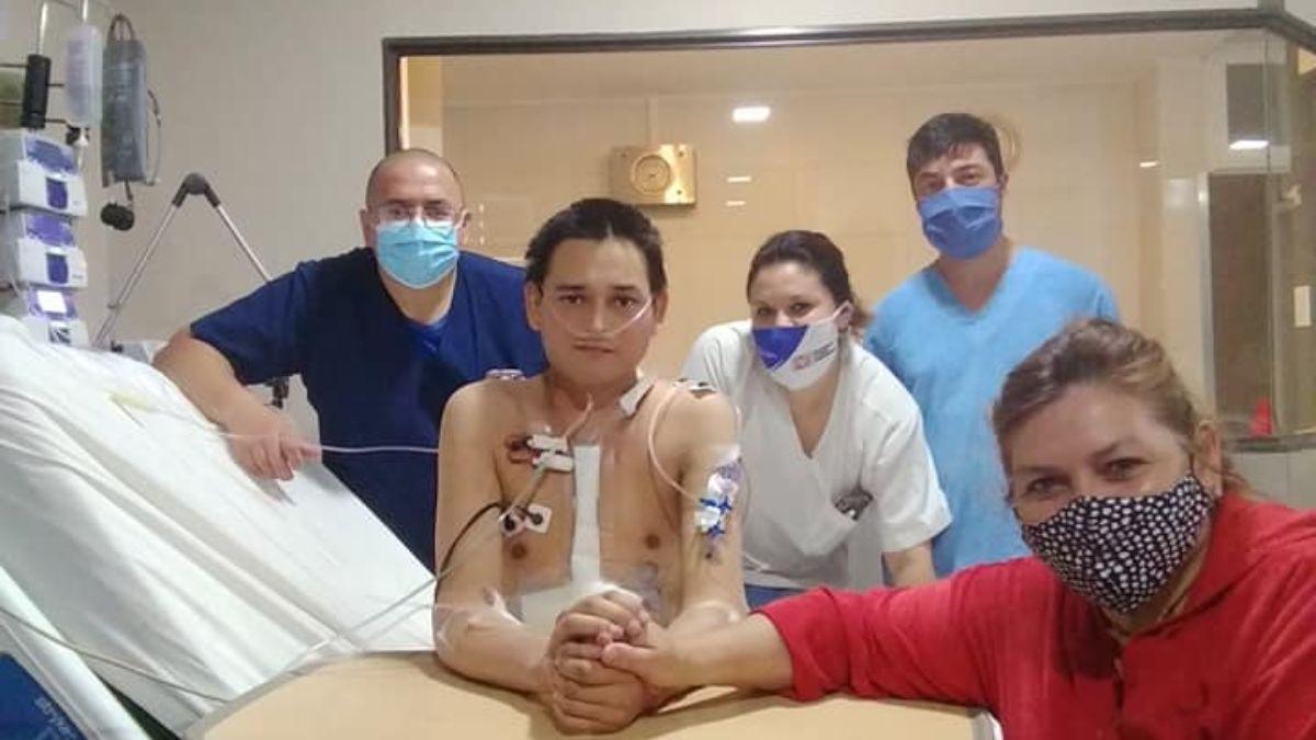 Una conjunción de buenas intenciones se dieron para lograr que la necesidad de un trasplante de corazón fuera un éxito y Ramiro saliera de este mal trance.