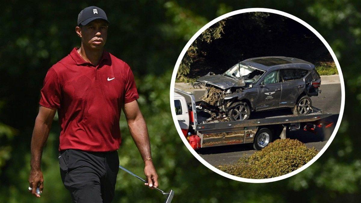 Tiger Woods se recuperó y dejó el hospital tras el accidente