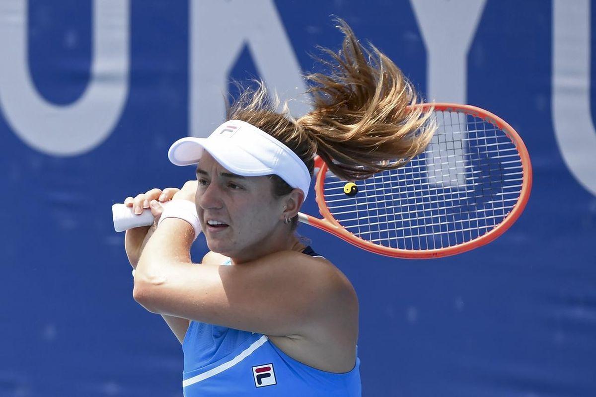 Nadia Podoroska no pudo con la española Badosa.