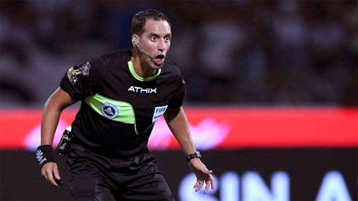 Rapallini ya dirigió un clásico en 2019: fue el 0 a 0 en el Monumental.