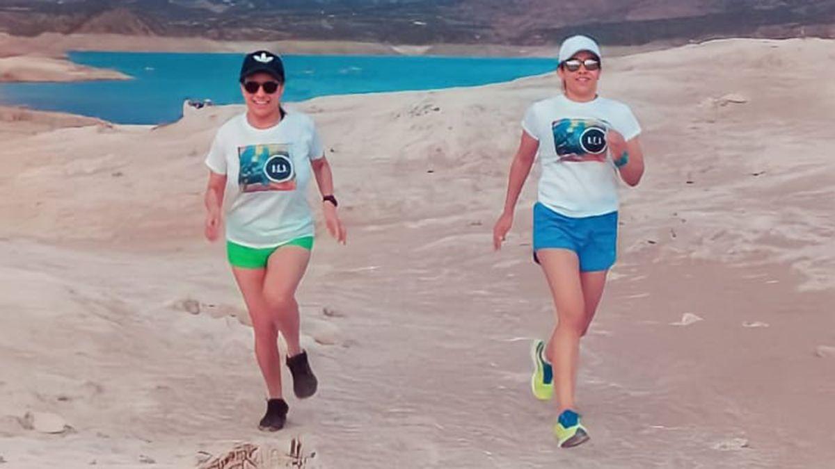 Las hermanas Ana y Lorena Sánchez partirán el 20 de diciembre a las 5 desde Vallecitos y harán un recorrido de 60 kilómetros.
