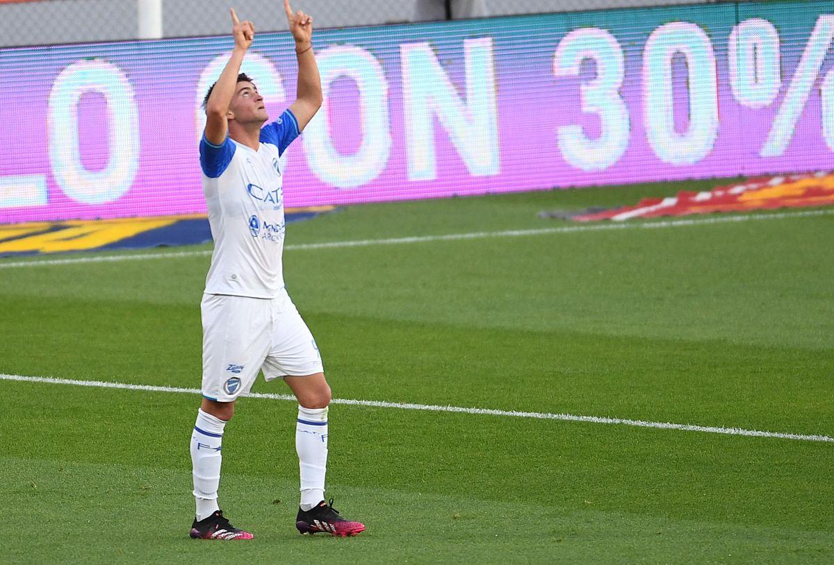 Badaloni participó en los dos goles de Godoy Cruz ante Independiente.
