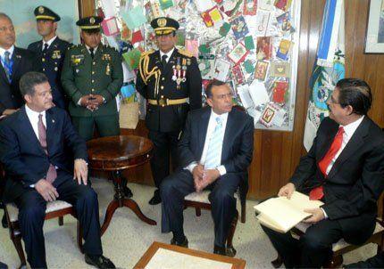 Asumió Porfirio Lobo, el nuevo presidente de Honduras