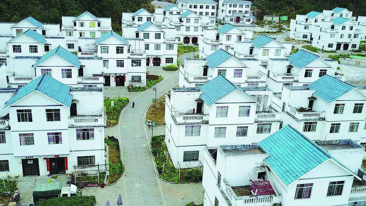 Los habitantesen la aldea de Keai del condado autónomo de la etnia maonan de Huanjiang