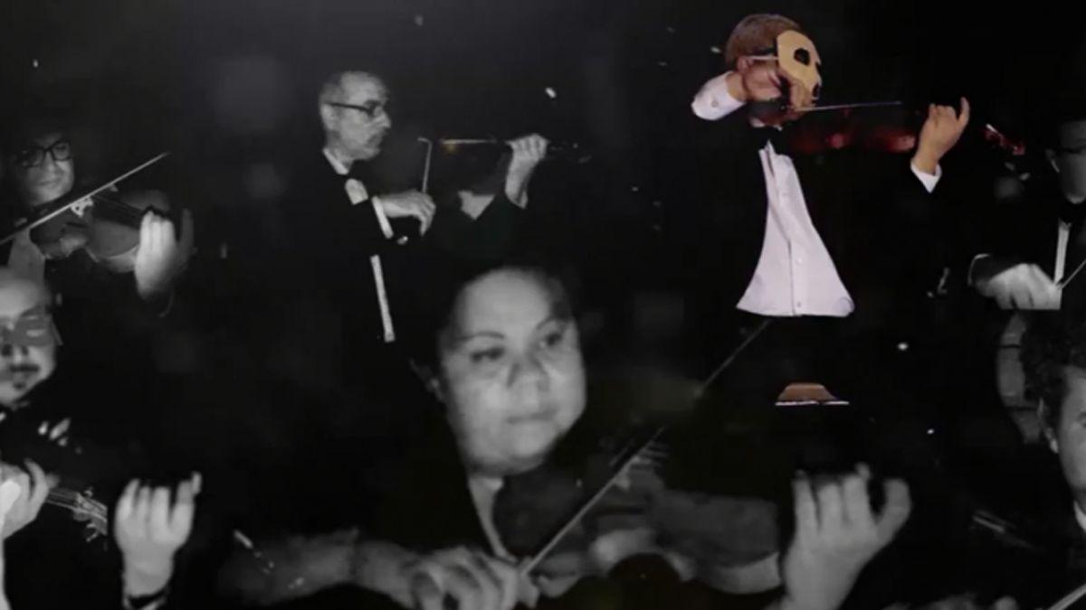 La Orquesta del UNCuyo y Eclipse interpretan a Pink Floyd.