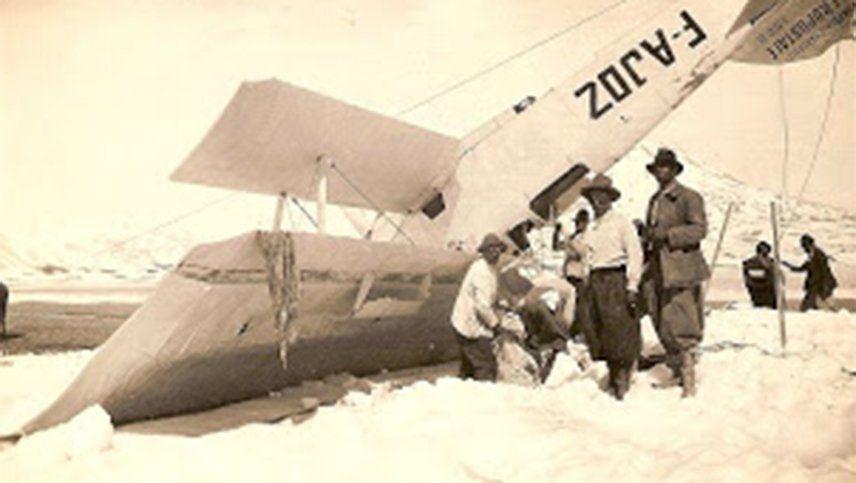 El chico de 14 años y el aviador moribundo: el milagro de la Laguna del Diamante