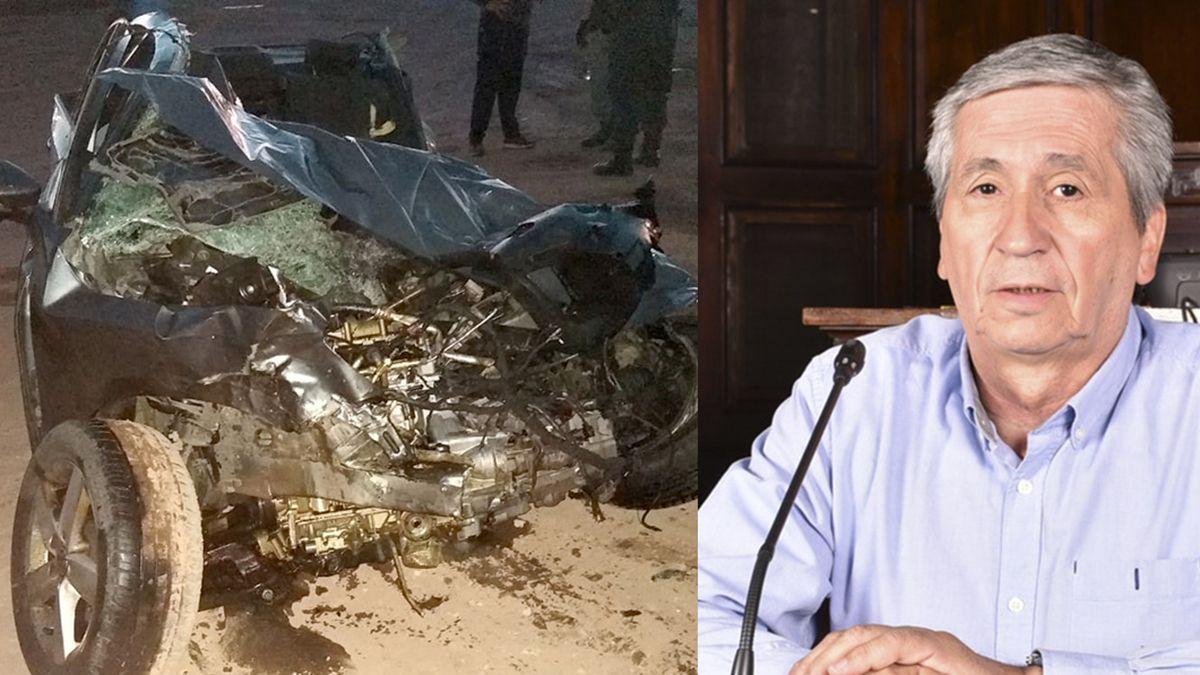 Guillermo Pereyra fue la víctima fatal del accidente ocurrido este martes en Luján.