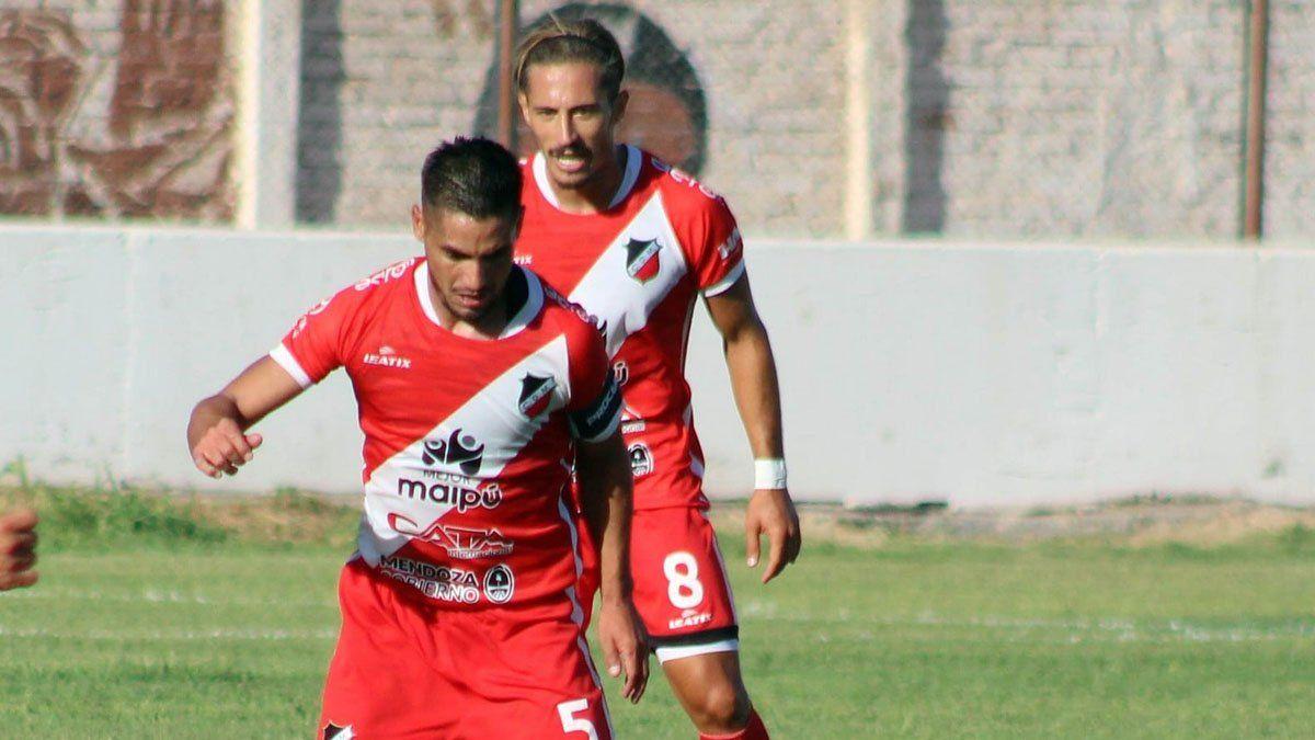 El volante Luis Daher palpitó lo que será una final ante Villa Mitre. (Fotos Prensa Deportivo Maipú).
