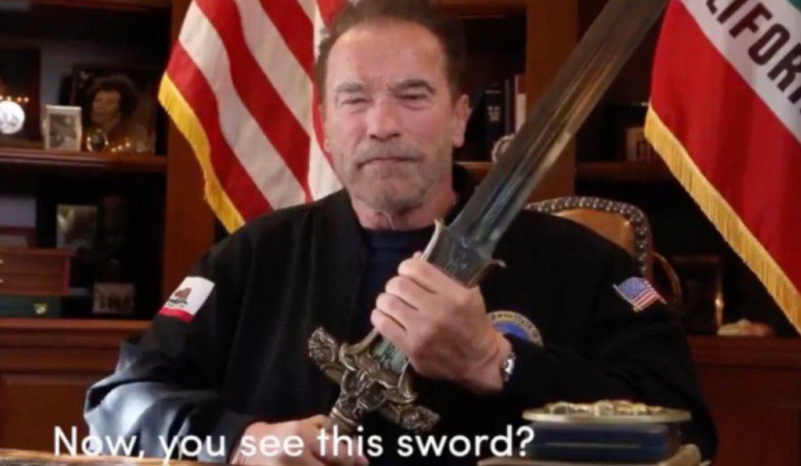 Schwarzenegger culpó a Trump por lo ocurrido en el Capitolio