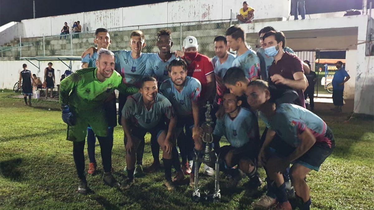 Así terminaba el mendocino uno de los partidos en Cancún.