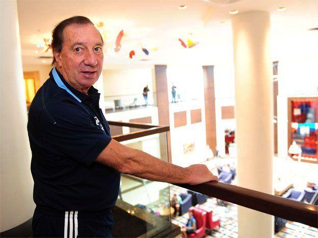 Para Bilardo, será difícil que la Selección juegue en Rosario