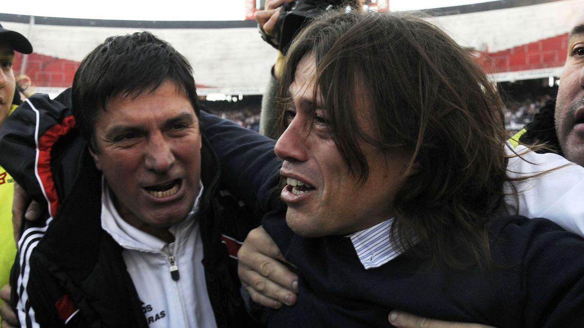 Matías Almeyda fue el DT que llevó a River al ascenso en 2012.