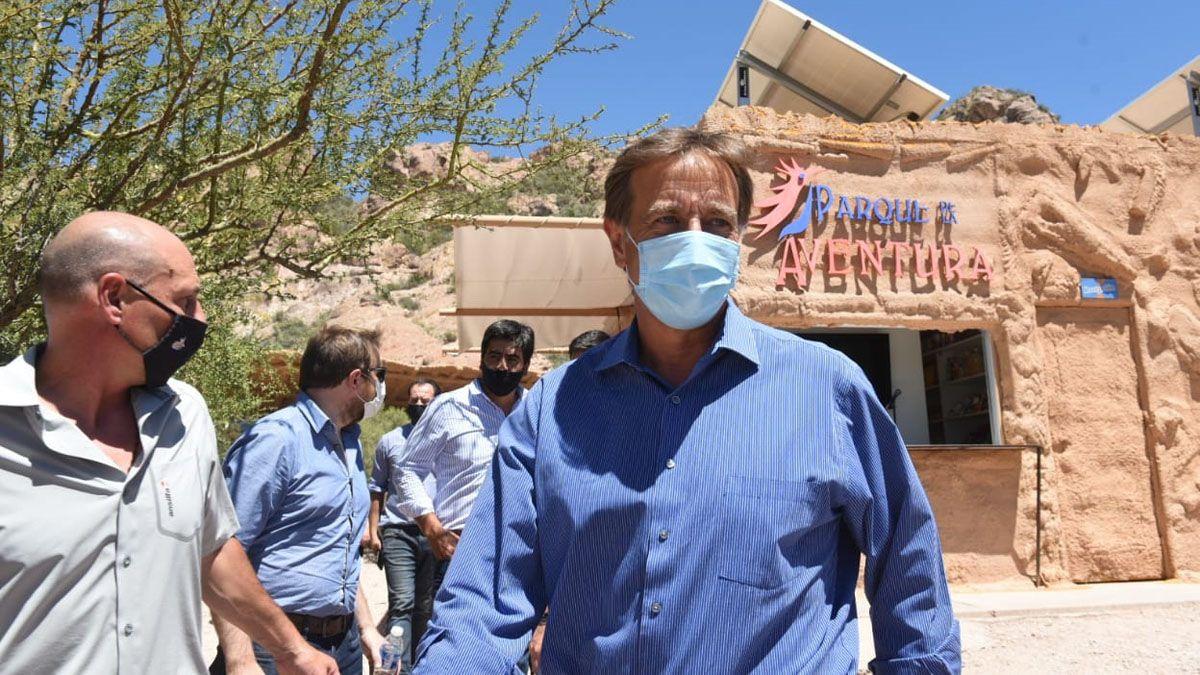 El gobernador Rodolfo Suarez anunció en San Rafael un paquete de descuentos del 50% para los mendocinos que realicen turismo interno.