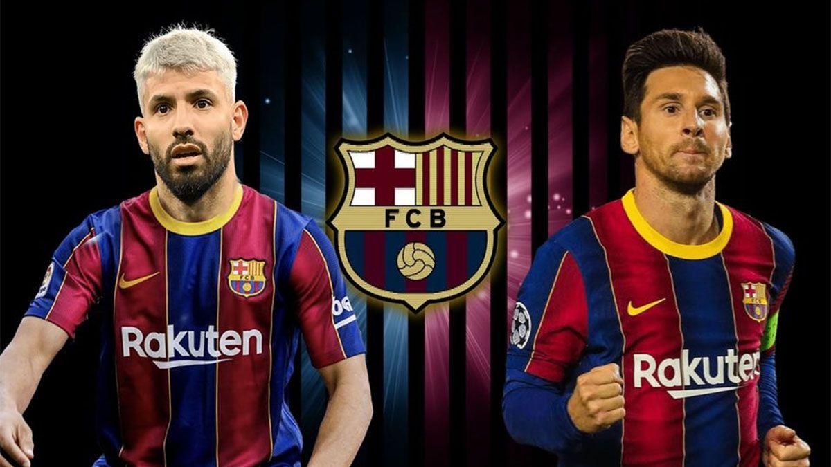 Reportan que el Kun Agüero arregló con el Barcelona