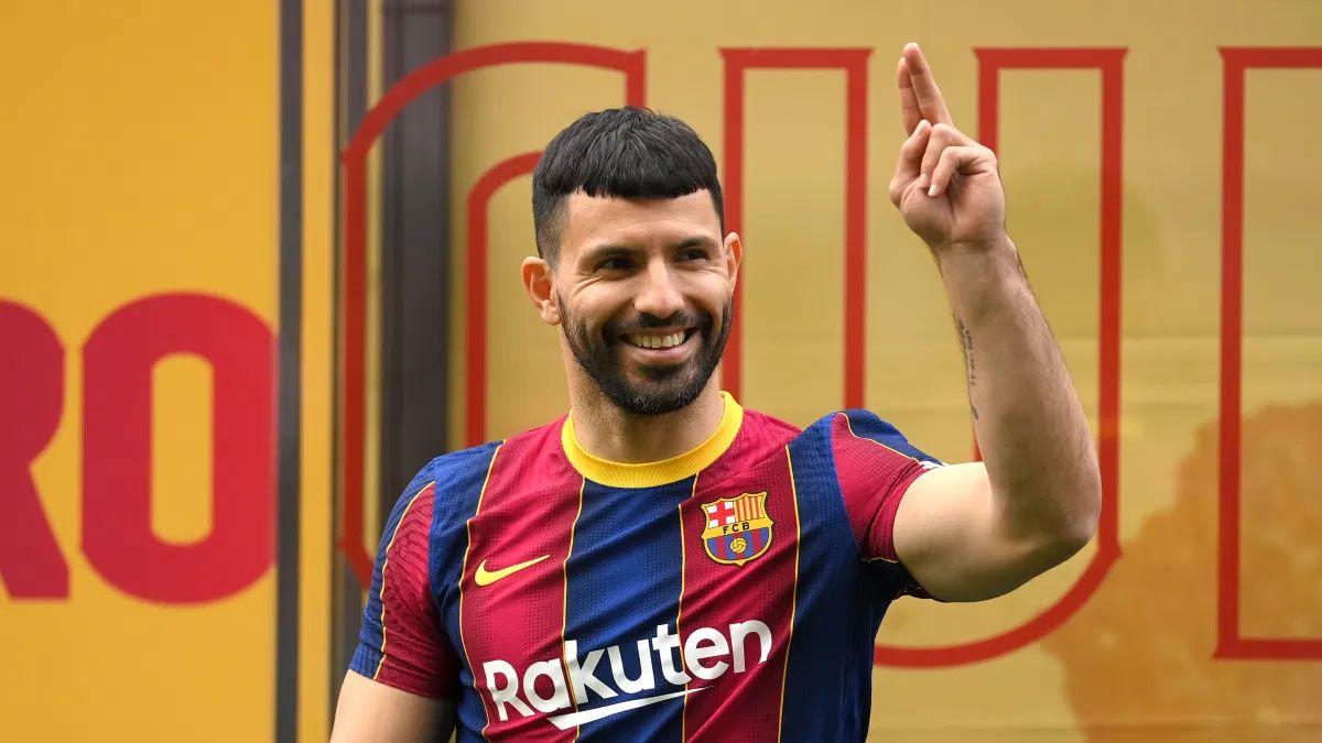 El Kun Agüero le está poniendo muchísima buena onda a su etapa de recuperación en el Barcelona.