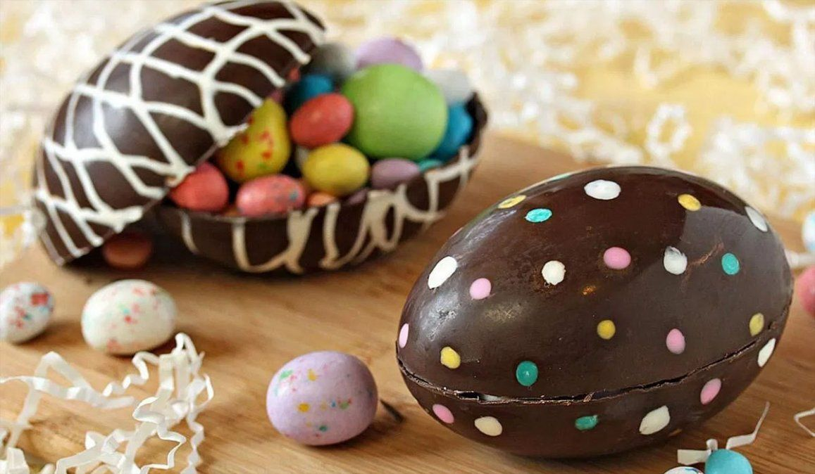 Receta: cómo hacer huevos de Pascuas caseros y baratos.