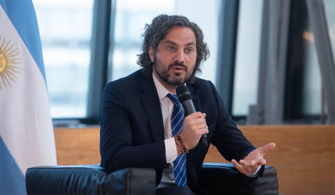 Santiago Cafiero cargó contra la oposición