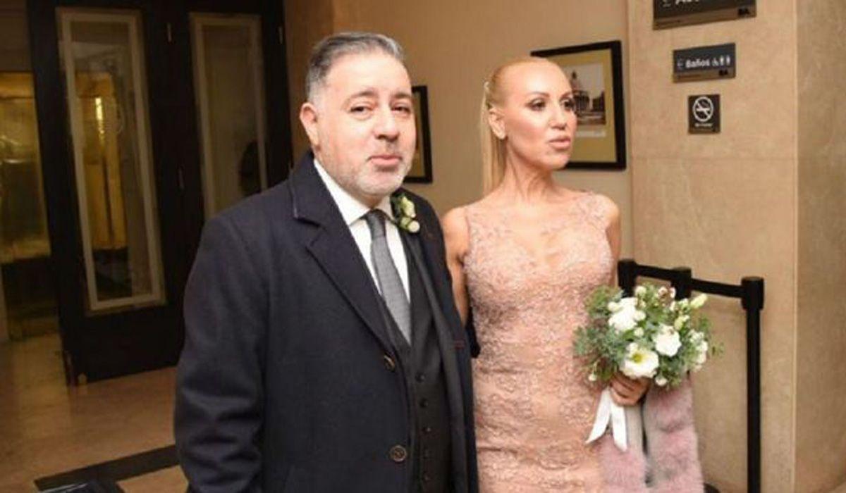 Fabián Doman y su ex pareja.