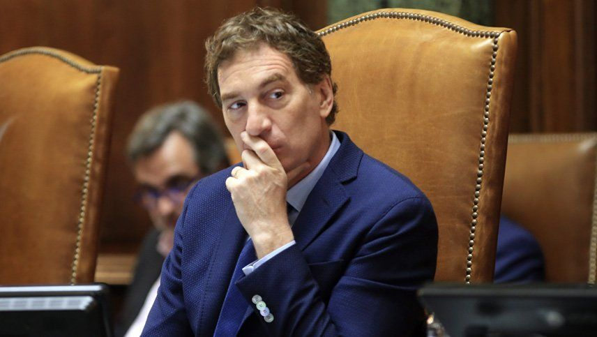 Diego Santilli dijo que este escenario tiene que ver con la alta volatilidad política
