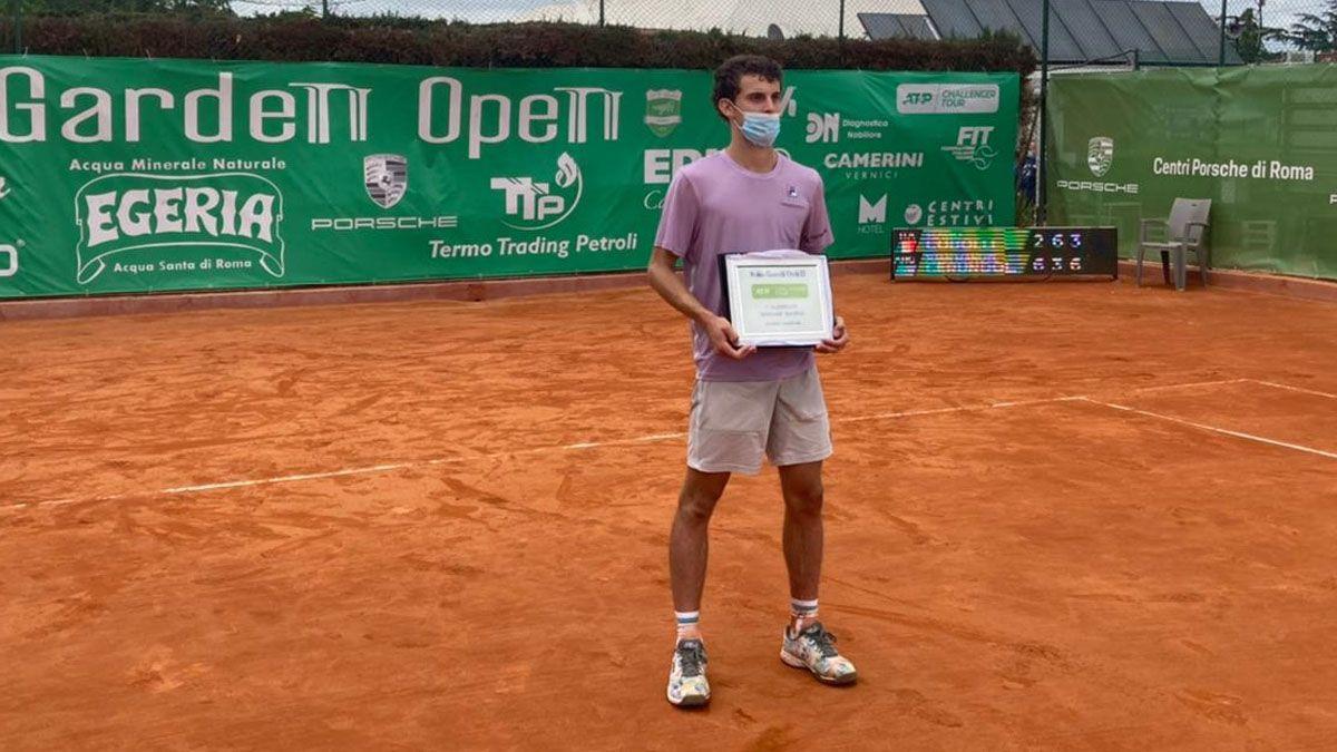 Juan Manuel Cerúndolo, campeón en Roma