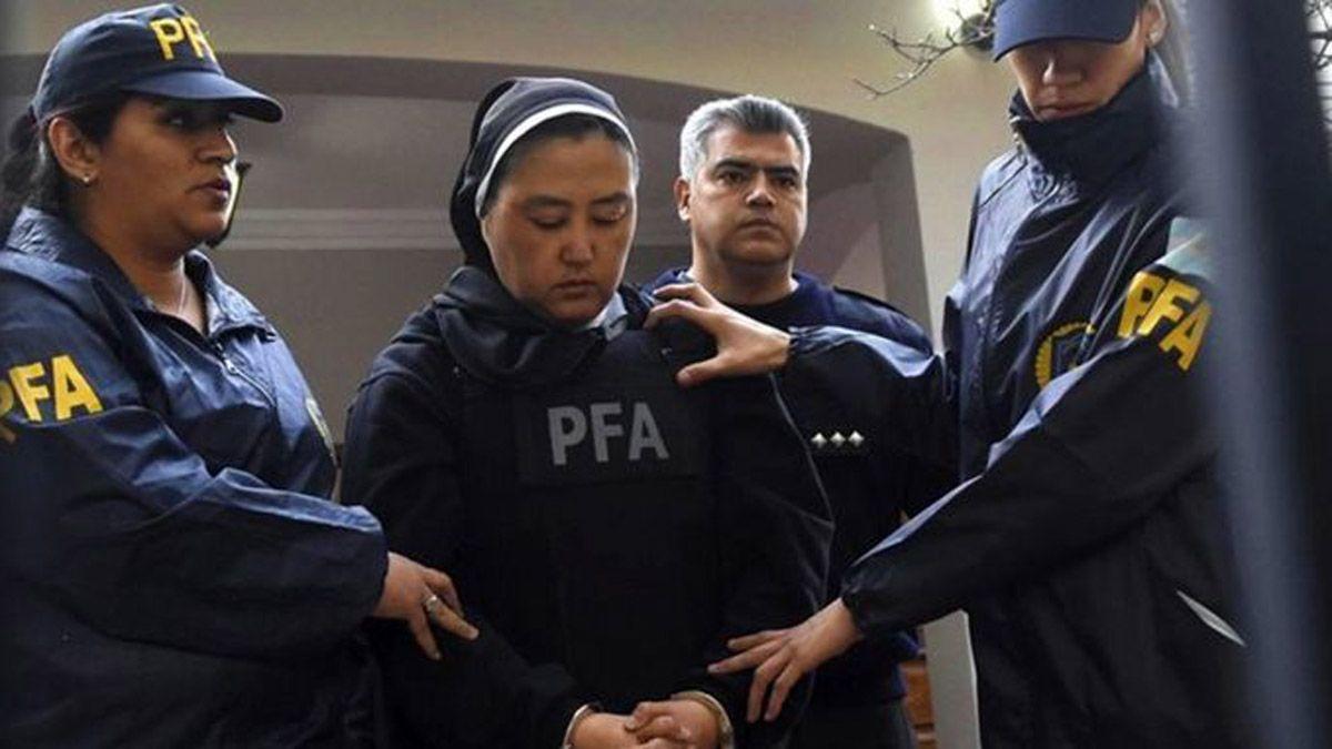 La monja Kumiko. No tuvo éxito su defensa en el pedido de nulidad del juicio.