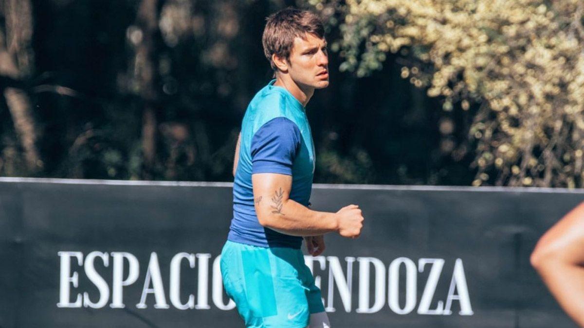 Gonzalo Bertranou se entrena a full con Los Pumas