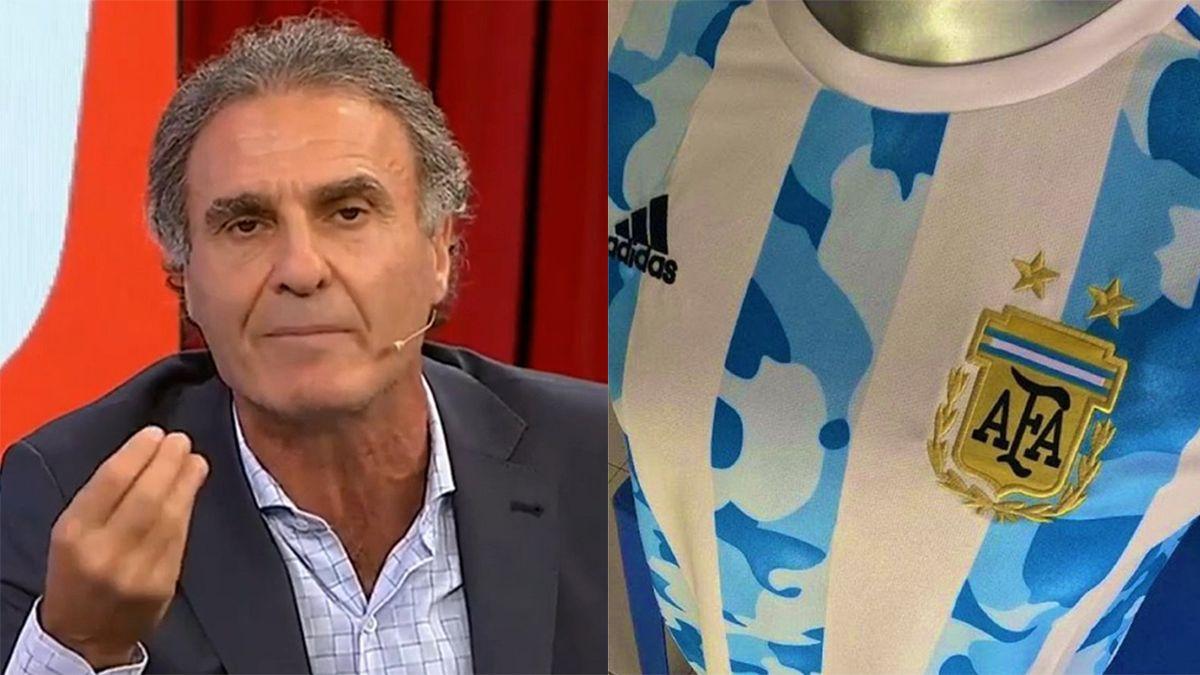 Ruggeri se re calentó por la nueva camiseta de la Selección