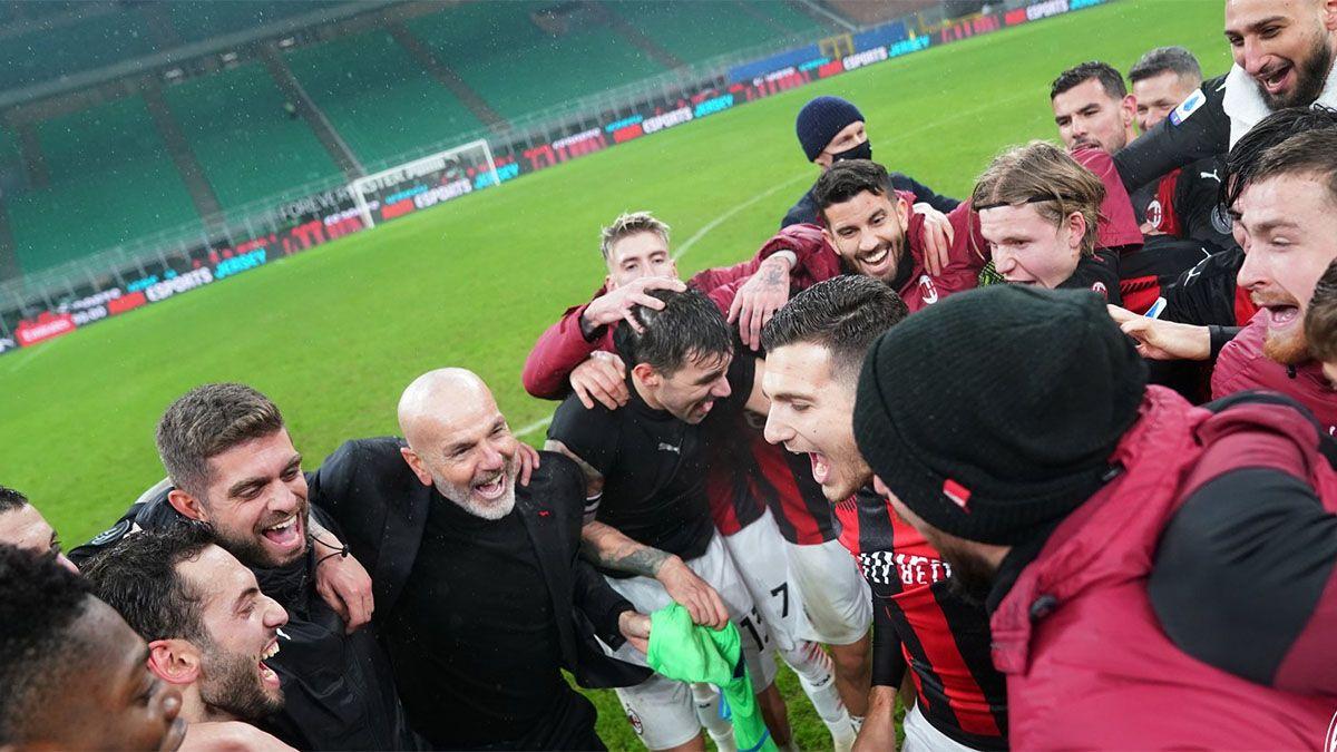 Milan le ganó a Lazio y recuperó la punta