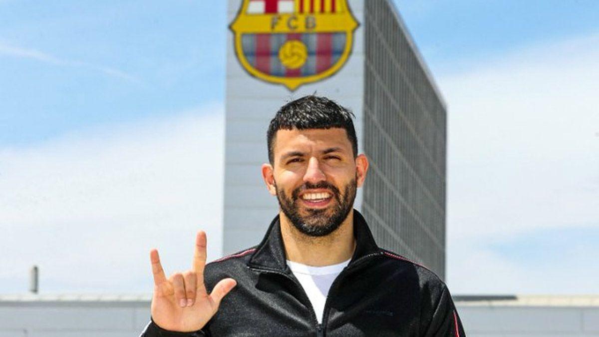El Kun Agüero y los detalles de su vínculo con el Barcelona