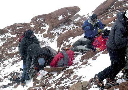 Ya hubo 88 rescates en el Aconcagua