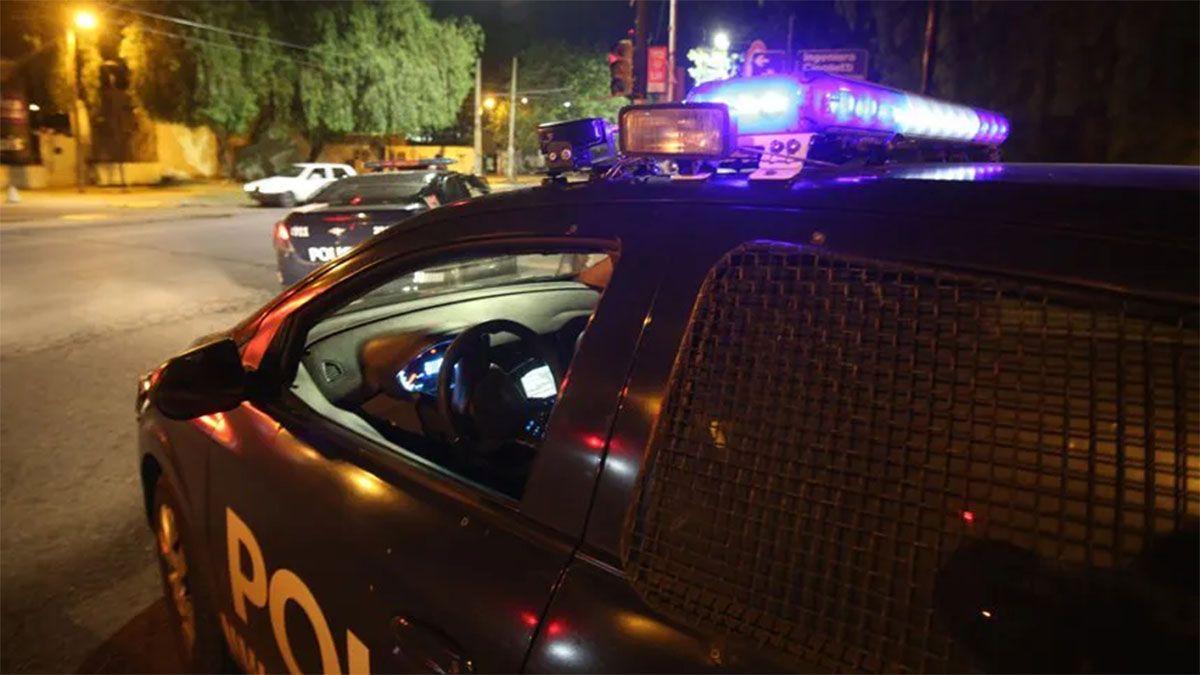 Los motochorros fueron perseguidos por la Policía hasta que fueron atrrapados.