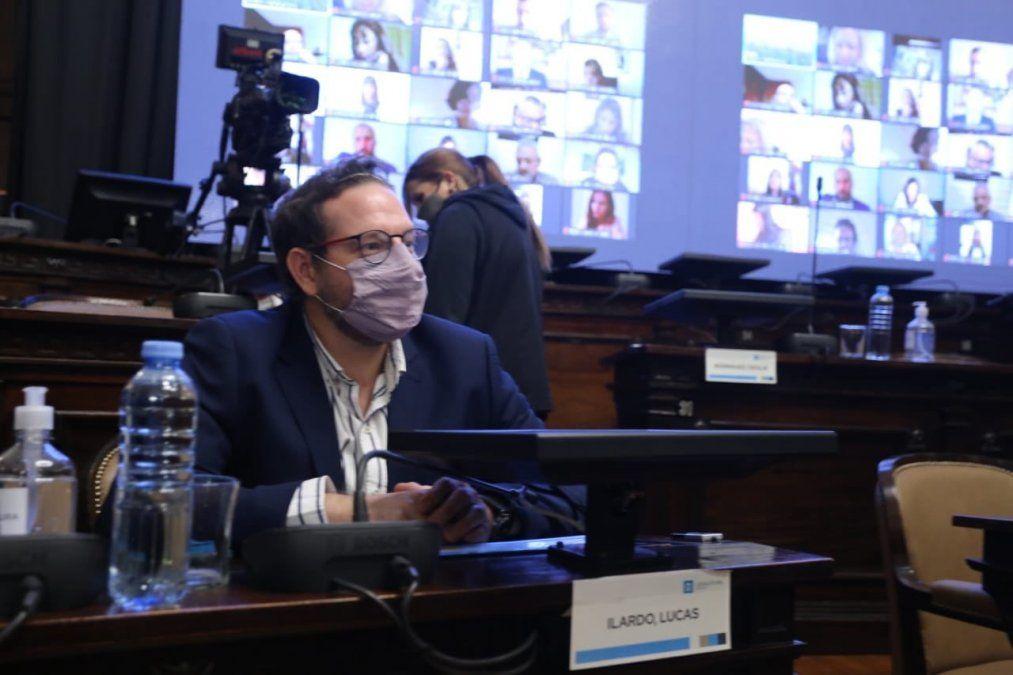 El senador Lucas Ilardo (PJ) fue muy duro con el gobernador Rodolfo Suarez