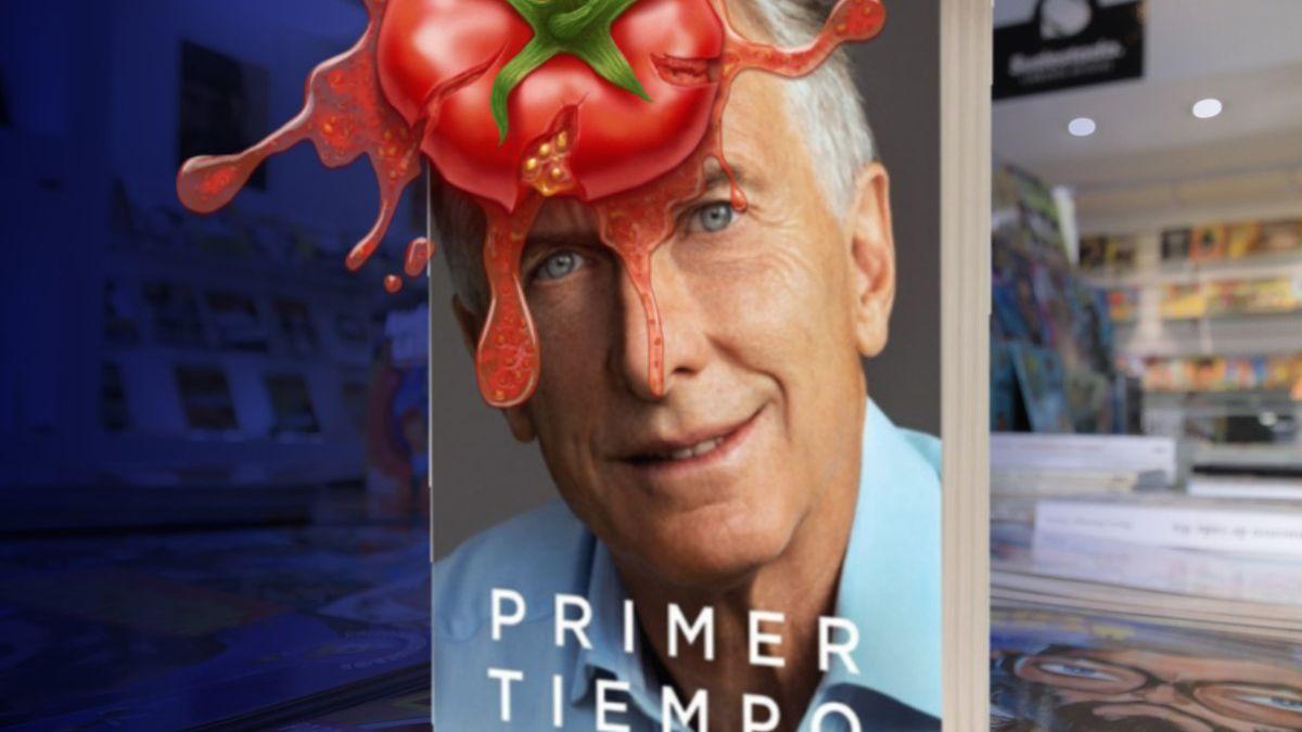 Uno de los tantos memes que aparecieron al conocerse el libro de Mauricio Macri.