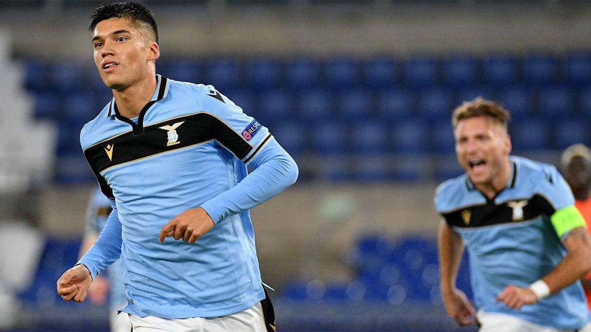 Lazio se clasificó con un gol de Joaquín Correa