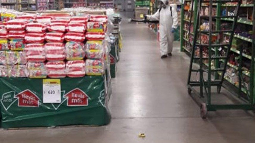 Coronavirus en Mendoza: un caso positivo en un  supermercado de San Martín