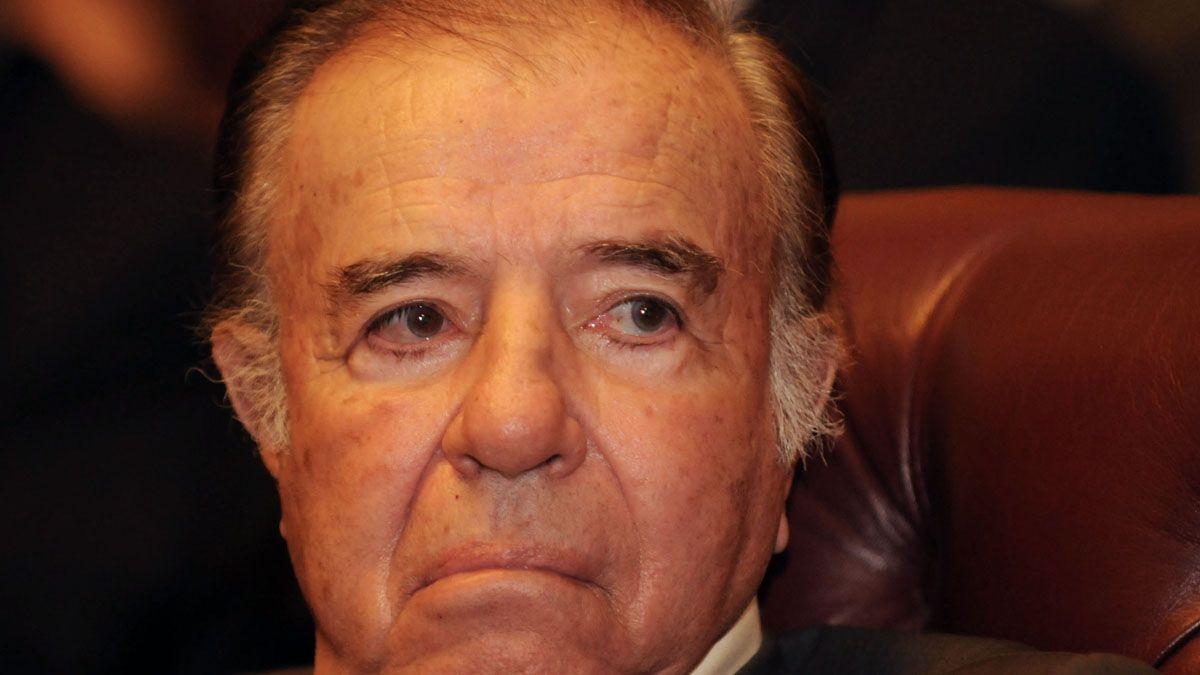 Carlos Menem se encuentra en grave estado por una falla renal
