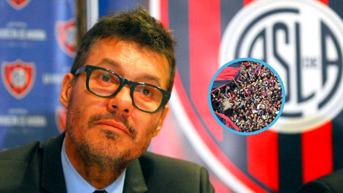 Un socio de San Lorenzo fue imputado por amenazar a Tinelli