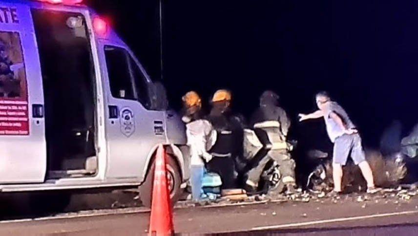 Identificaron a los mendocinos fallecidos en el accidente en Río Negro