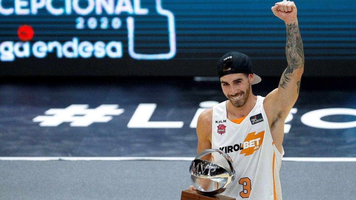 ¡Bomba! Luca Vildoza, a un paso de la NBA