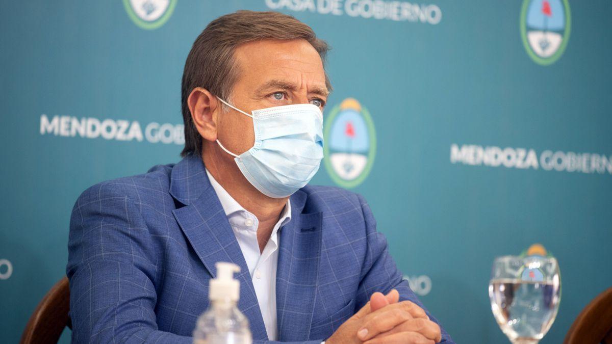 El gobernador Rodolfo Suarez admitió que evaluará el nivel de contagios de Covid que puedan darse en las fiestas y podría dar marcha atrás con algunas habilitaciones.