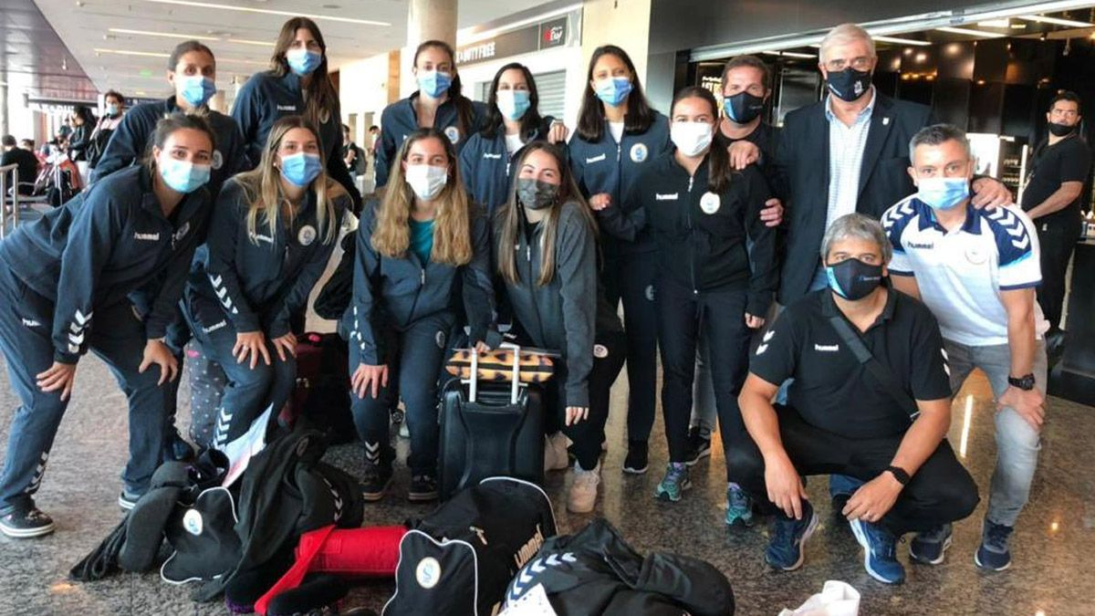 La Garra viajó a España en busca del boleto olímpico
