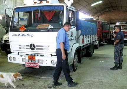 Secuestraron una tonelada de explosivos en Tunuyán