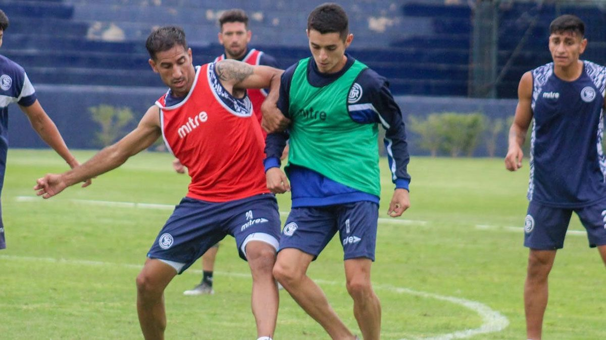 Fabello y Pablo Palacio serán titulares ante Defensores de Belgrano.